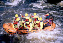 White water rafting Bala Snowdonia, North Wales